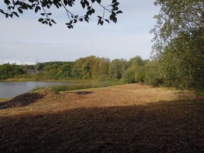 Terrein met bouwgrond en 2 visvijvers en chalet te koop-32330m2